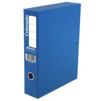 Acco Eastlight Colorado Box File Lockspring A4 Blue 30443EAST