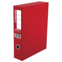 Image for Acco Eastlight Colorado Box File Lockspring A4 Red 30448EAST