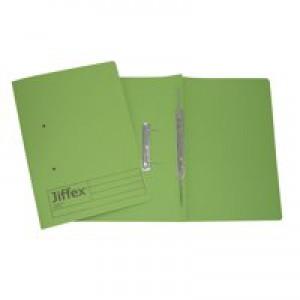 Acco Eastlight Jiffex File Foolscap Green 43214EAST