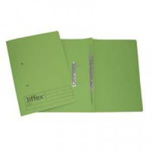 Acco Eastlight Jiffex File Foolscap Green 43214EAST