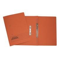 Acco Eastlight Jiffex File Foolscap Orange 43216EAST