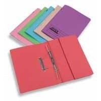 Rexel Jiffex Breast Cancer Campaign Pocket File Foolscap Pink 43317EAST
