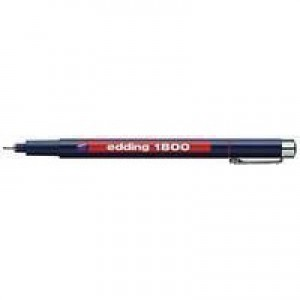 Edding Profipen 0.1mm 1800 Black 1800-0.1-001