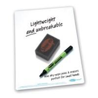 Show-me super tough A4 plain Whiteboard sets  C/SRP