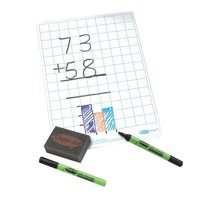 Show-me Boards A4 Gridded & Accessories (35) C/SQB