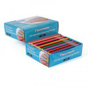 Eastpoint bx144 Classmaster colouring pencil assorted cp144
