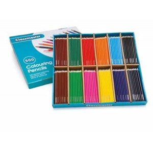 Classmaster Colouring Pencil Assorted Display Box of 288 CP288