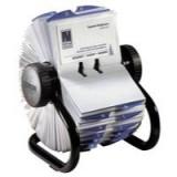 Rolodex Business File Black 400 Capacity 67236