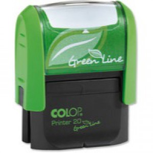 Colop Word Stamp Green Line Posted GLP20POST