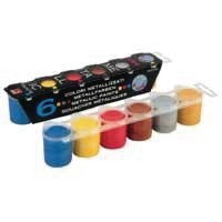 Image for Elco Metallic Paints Pack of 12 MOR50013