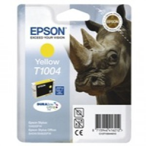 Epson SX610FW/B40/BX600FW Ink Cartridge Yellow C13T10044010