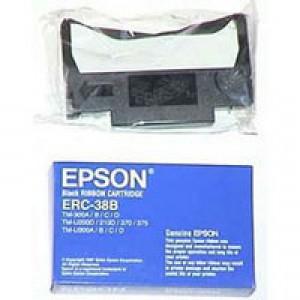 Epson ERC38 Fabric Ribbon Red/Black C43S015245