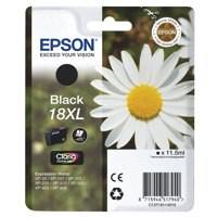 Epson 18XL Black High Yield Inkjet Cartridge C13T18114010 / T1811