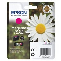 Epson 18XLM Inkjet Cartridge High Yield Magenta C13T18134010