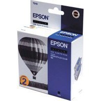 Epson Hot Air Balloon Ink Inkjet Cart Blk Twin Pack T019402 C13T01940210