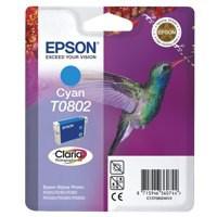 Epson Photo R265/RX560 Inkjet Cartridge T0802 Cyan C13T08024011