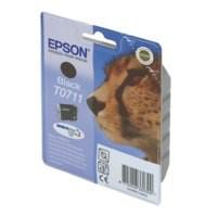 Epson T0711 Black Inkjet Cartridge C13T07114011 / T0711