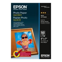 Epson Glossy Photo Paper 13x18cm Pack of 40 Sheets C13S042156