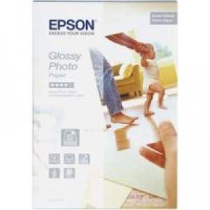 Epson Glossy Photo Paper 10x15cm Pack of 50 Sheets C13S042176