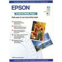 Epson A3 Archival Matt Paper Pack of 50 C13S041344