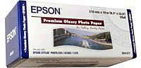 Epson Premium Glossy Photo Paper 210mm x10 Metres C13S041377