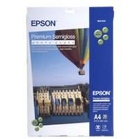 Epson Premium Semi-Gloss Photo Paper A2 Pk 25 Sheets C13S042093