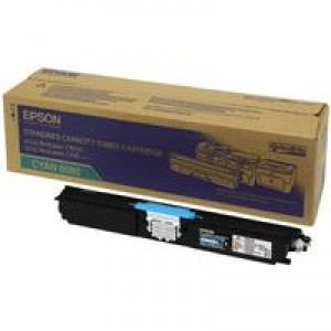Epson AcuLaser C1600/CX16 Toner Cartridge Standard Capacity 1.6K Cyan C13S050560