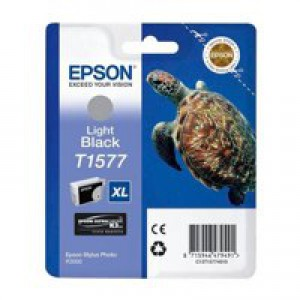 Epson Stylus Photo R3000 T1577 Inkjet Cartridge Light Black C13T15774010