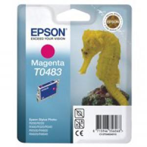 Epson R300/RX500 Inkjet Cartridge Magenta 13ml T0483 C13T048340
