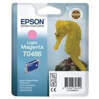 Epson R300/RX500 Inkjet Cartridge Light Magenta 13ml T0486 C13T048640
