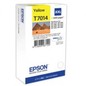 Epson WP4000/4500 Inkjet Cartridge Extra High Yield Yellow C13T70144010