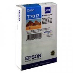 Epson WP4000/4500 Inkjet Cartridge Extra High Yield Cyan C13T70124010