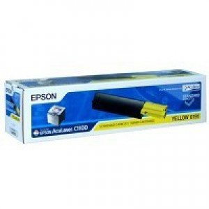 Epson S050191 Laser Toner Cartridge Page Life 1500pp Yellow Ref C13S050191