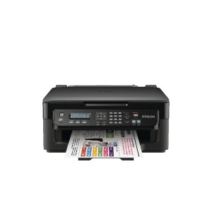 Epson Black WorkForce WF-2510WF All-in-One Wireless Colour A4 Inkjet Printer C11CC58301