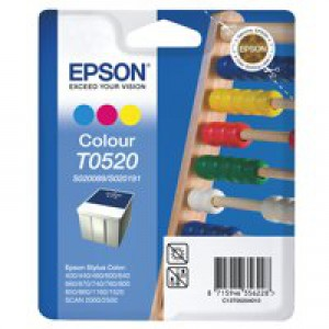 Epson Inkjet Cartridge Stylus 400 3-Colour 35ml C13T052040 S020089/S020191