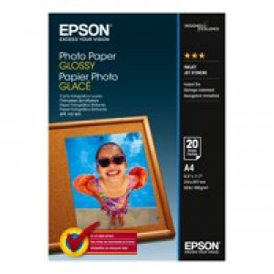 Epson Photo Paper Glossy A4 200gsm C13S042538