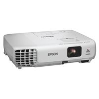 Epson Ebs18 Bright Portable SVGA Projector White