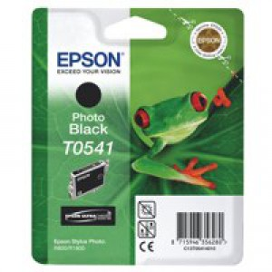 Epson Stylus Photo R800 Inkjet Cartridge Photo Black 13ml T0541 C13T054140