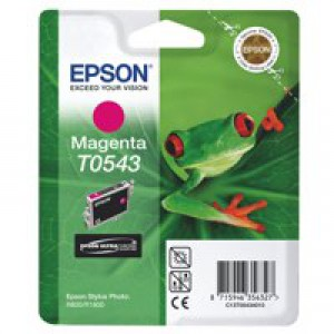 Epson Stylus Photo R800 Inkjet Cartridge Magenta 13ml T0543 C13T054340
