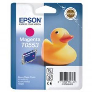 Epson Stylus RX420 Inkjet Cartridge Magenta 8ml T0553 C13T055340