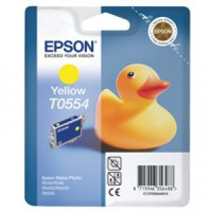Epson Stylus RX420 Inkjet Cartridge Yellow 8ml T0554 C13T055440