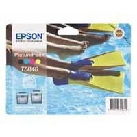 Epson Ink Cart Pk5/150Shts Photo Paper
