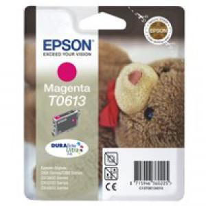 Epson Stylus D68/88 DX3800/4800 Inkjet Cartridge Magenta 8ml T0613 C13T061340