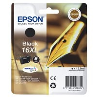 Epson 16XL Black High Yield Inkjet Cartridge C13T16314010 / T1631