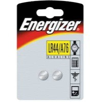Energizer Speciality Alkaline Battery A76/LR44 Pack of 2 623055