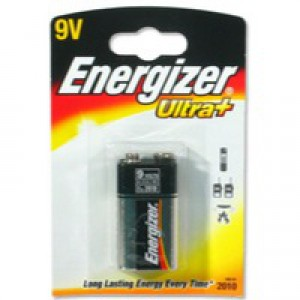 Energizer Ultra Plus Battery 9V