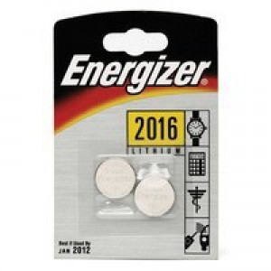 Energizer Special Lithium Battery 2016/CR2016 FSB2 Pk 2 626986