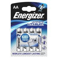 Energizer Ultimate Lithium Battery AA Pk 4 626264