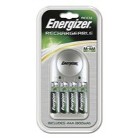 Image for Energizer Value Battery Charger 4x AA Batteries 1300 MaH 632229