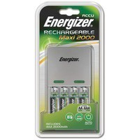 EnEnergizer Maxi Battery Charger 4x AA Batteries 2000 MaH UK 632325
